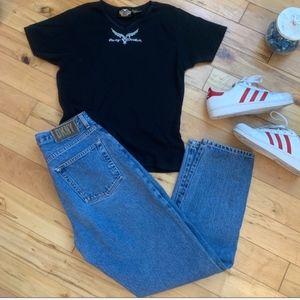 DKNY | Vintage Med Wash Mom Jeans Size 8 Girlfrien